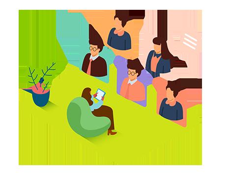 BAMF virtuelles Klassenzimmer - Videokonferenzen mit seconos LMS durchführen